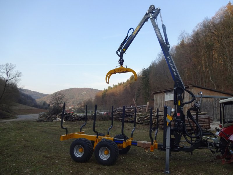 Rückewagen & Rückeanhänger des Typs Källefall FB90 FB69T, Neumaschine in Happurg - Föhrenbach (Bild 4)
