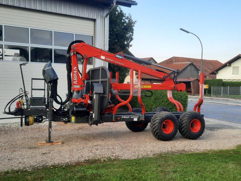 Rückewagen & Rückeanhänger des Typs Krpan GD8, Neumaschine in Cham (Bild 1)