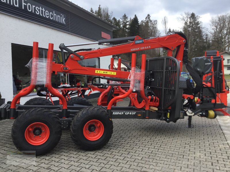 Rückewagen & Rückeanhänger des Typs Krpan GP8DF, Neumaschine in Fürsteneck (Bild 1)