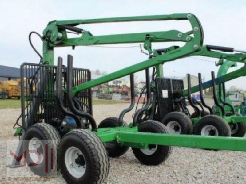 Rückewagen & Rückeanhänger des Typs MD Landmaschinen Kellfri Rückeanhänger 8T GLP57 Gerader Arm, Neumaschine in Zeven (Bild 8)