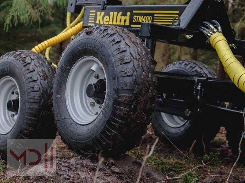 Rückewagen & Rückeanhänger des Typs MD Landmaschinen Kellfri Rückeanhänger 8T GLP57 Gerader Arm, Neumaschine in Zeven (Bild 4)