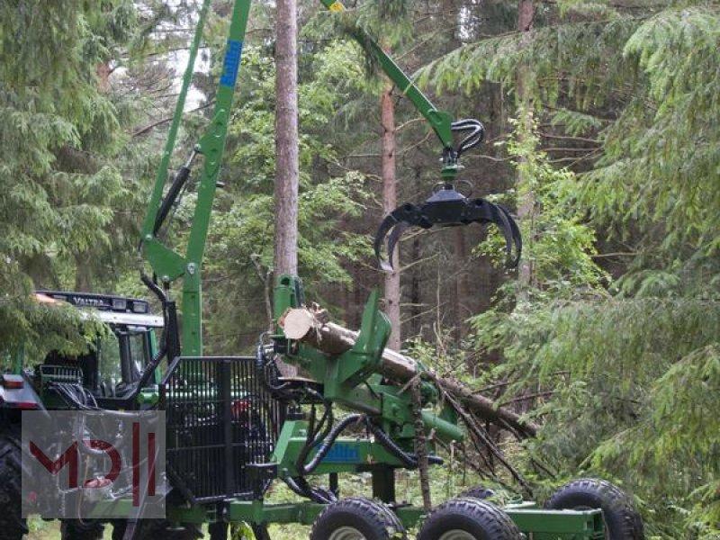 Rückewagen & Rückeanhänger des Typs MD Landmaschinen Kellfri Rückeanhänger 8T GLP57 Gerader Arm, Neumaschine in Zeven (Bild 5)