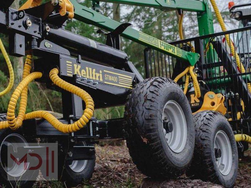 Rückewagen & Rückeanhänger des Typs MD Landmaschinen Kellfri Rückeanhänger 8T GLP57 Gerader Arm, Neumaschine in Zeven (Bild 2)