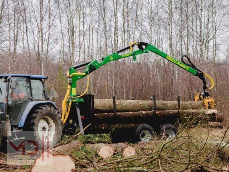 Rückewagen & Rückeanhänger des Typs MD Landmaschinen KELLFRI Rückeanhänger 9 T mit Kran, Neumaschine in Zeven (Bild 1)