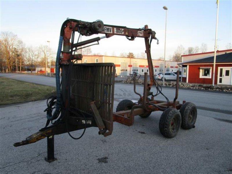 Rückewagen & Rückeanhänger a típus Moheda FMV1600, Gebrauchtmaschine ekkor: Värnamo (Kép 2)