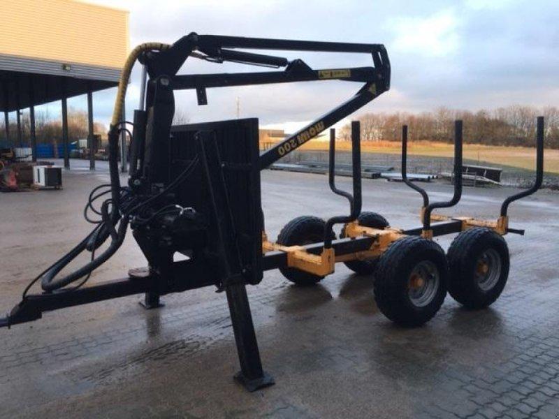 Rückewagen & Rückeanhänger des Typs Mowi 6,5 ton vogn med Mowi 200 kran, Gebrauchtmaschine in Horsens (Bild 3)