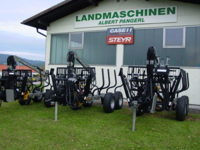 Rückewagen & Rückeanhänger типа Multiforest 650 New Edition mit Trejon Kran 4800, Neumaschine в Viechtach (Фотография 1)