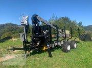Multiforest MF1050 (10,5t) Kran V7300 (7,3m), Druckluftbremse Rückewagen & Rückeanhänger
