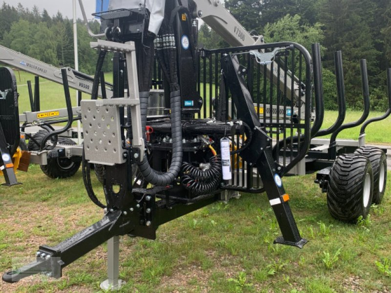 Rückewagen & Rückeanhänger des Typs Multiforest MF1050BS Boogiesteuerung, Neumaschine in Rain (Bild 2)