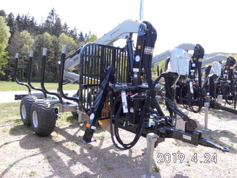 Rückewagen & Rückeanhänger типа Multiforest MF950 (9,5t), Kran V6500 (6,5m), Neumaschine в Haibach (Фотография 1)