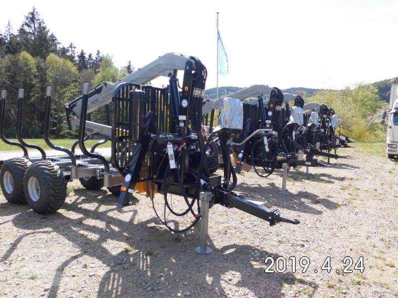 """Rückewagen & Rückeanhänger типа Multiforest MF950 (9,5t) """"NEW EDITION"""" Kran V6500 (6,5m), Druckluftbremse, Neumaschine в Haibach (Фотография 1)"""
