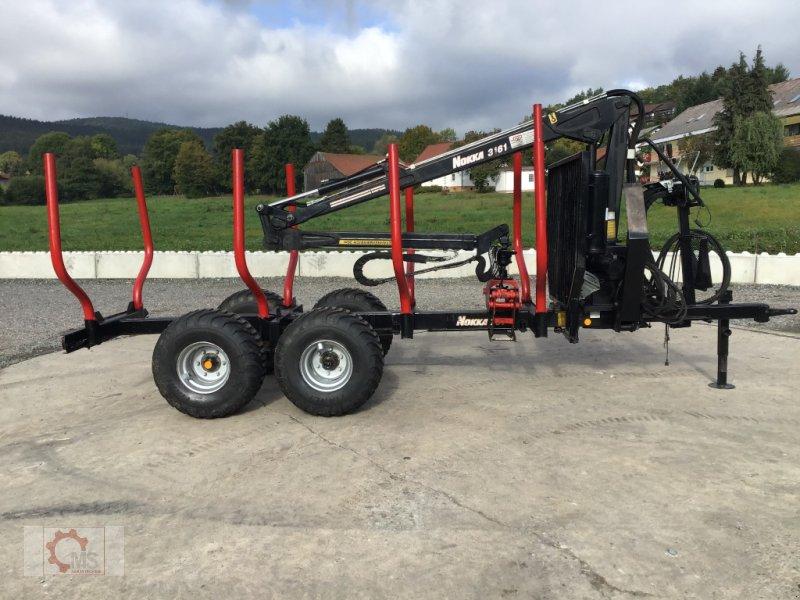 Rückewagen & Rückeanhänger des Typs Nokka 751 Kran 3161 Druckluft gebraucht, Gebrauchtmaschine in Tiefenbach (Bild 7)