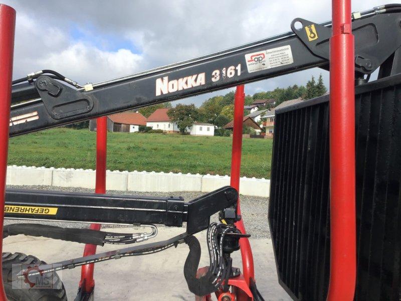 Rückewagen & Rückeanhänger des Typs Nokka 751 Kran 3161 Druckluft gebraucht, Gebrauchtmaschine in Tiefenbach (Bild 11)