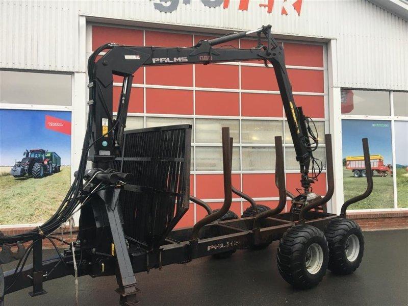 Rückewagen & Rückeanhänger des Typs Palms 10 t vogn med kran, Gebrauchtmaschine in Hobro (Bild 1)