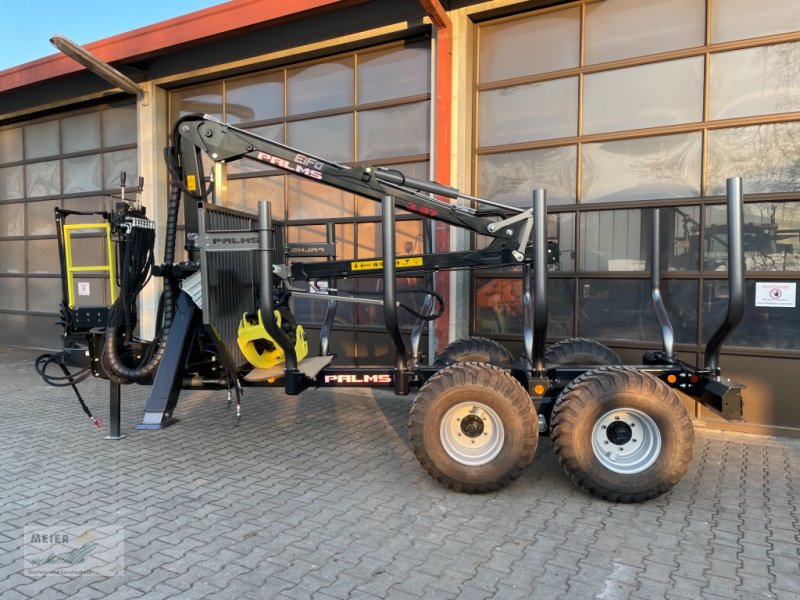 Rückewagen & Rückeanhänger des Typs Palms 3.67/10,20, Neumaschine in Hersbruck (Bild 1)