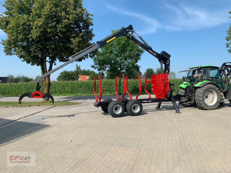 Rückewagen & Rückeanhänger des Typs Palms 5.85/12,20D Aktion, Neumaschine in Bad Grönenbach (Bild 1)