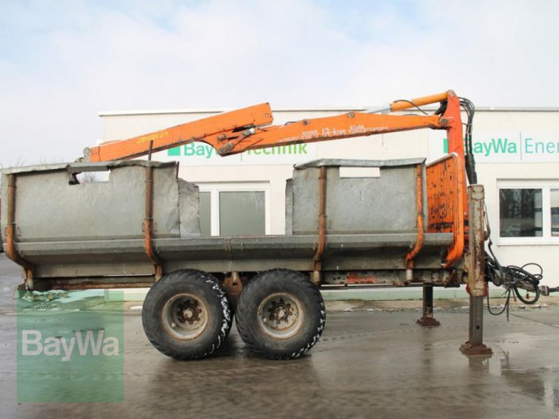 Rückewagen & Rückeanhänger des Typs Pfanzelt 15100 + Kran PM 61100, Gebrauchtmaschine in Straubing (Bild 1)