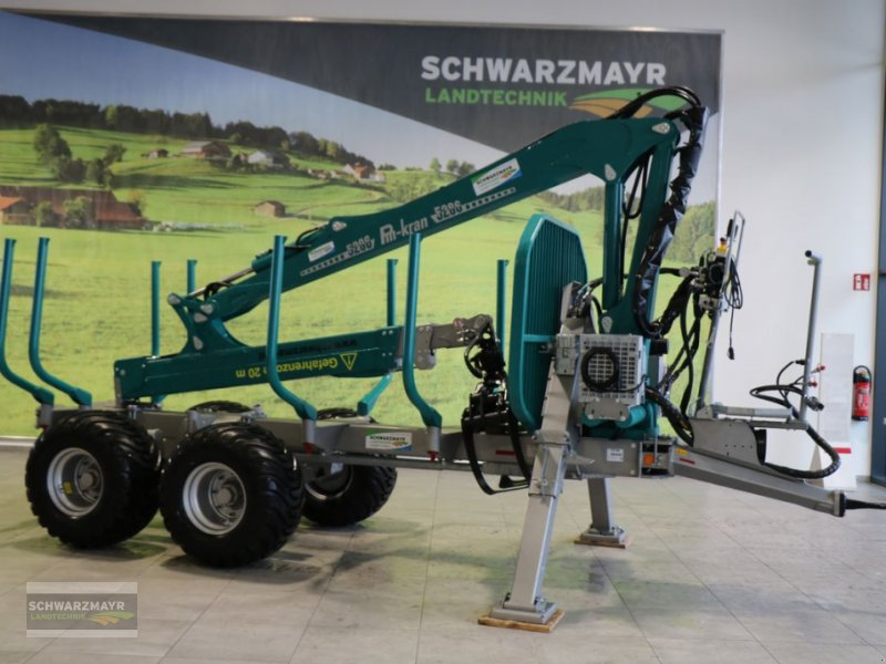 Rückewagen & Rückeanhänger des Typs Pfanzelt P13 MIT LK5286, Neumaschine in Gampern (Bild 1)
