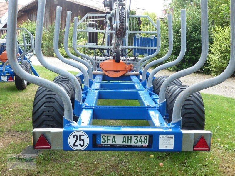 Rückewagen & Rückeanhänger des Typs Scandic 10D/72 PRO, Neumaschine in Neuenkirchen (Bild 2)