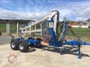 Scandic Scandic ST-8 8t 7,9m Kran Auflauf Hydr. 550kg Sofort verfügbar Трелевочные прицепы