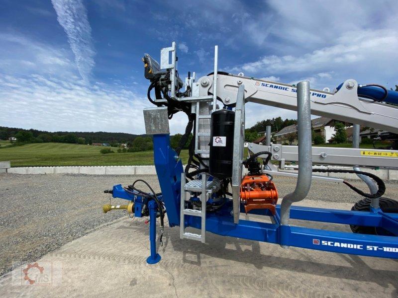 Rückewagen & Rückeanhänger des Typs Scandic ST-10D 13t 7,9m 850kg Hubkraft Druckluft Hochsitz 40% Förderung, Gebrauchtmaschine in Tiefenbach (Bild 12)
