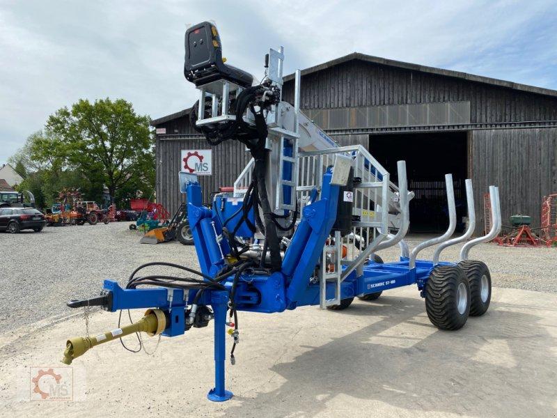 Rückewagen & Rückeanhänger des Typs Scandic ST-10D 13t 7,9m 850kg Hubkraft Druckluft Hochsitz 40% Förderung, Gebrauchtmaschine in Tiefenbach (Bild 17)