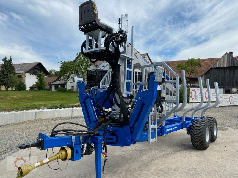 Rückewagen & Rückeanhänger des Typs Scandic ST-10D 13t 7,9m 850kg Hubkraft Druckluft Hochsitz, Neumaschine in Tiefenbach (Bild 3)