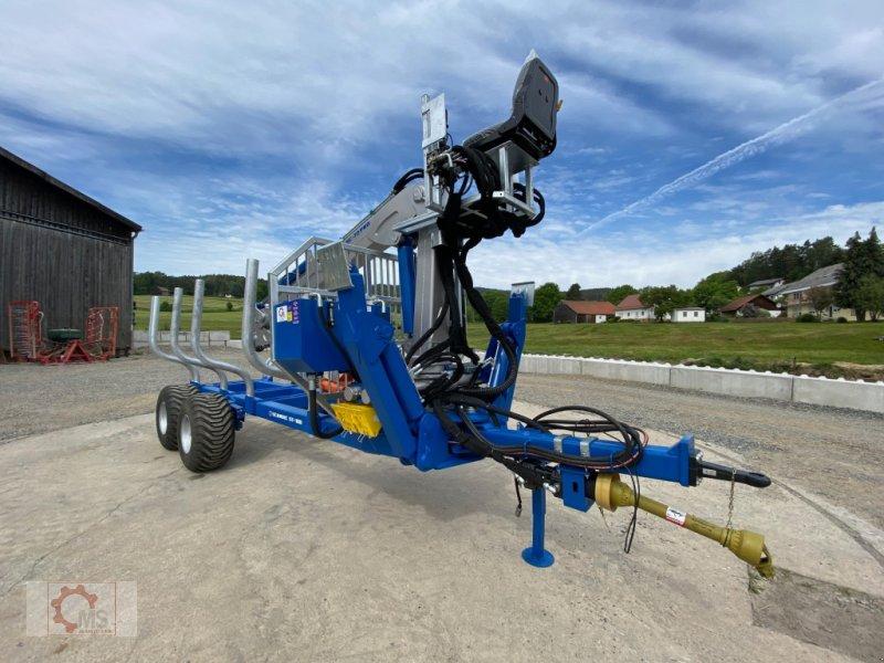 Rückewagen & Rückeanhänger des Typs Scandic ST-10D 13t 7,9m 850kg Hubkraft Druckluft Hochsitz, Neumaschine in Tiefenbach (Bild 7)