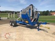 Scandic ST-10D 13t 7,9m 850kg Hubkraft Druckluft Winde sofort verfügbar Rückewagen & Rückeanhänger
