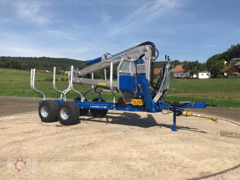 Rückewagen & Rückeanhänger des Typs Scandic ST-10D 13t 7,9m 850kg Hubkraft Druckluft winde sofort verfügbar, Neumaschine in Tiefenbach (Bild 3)