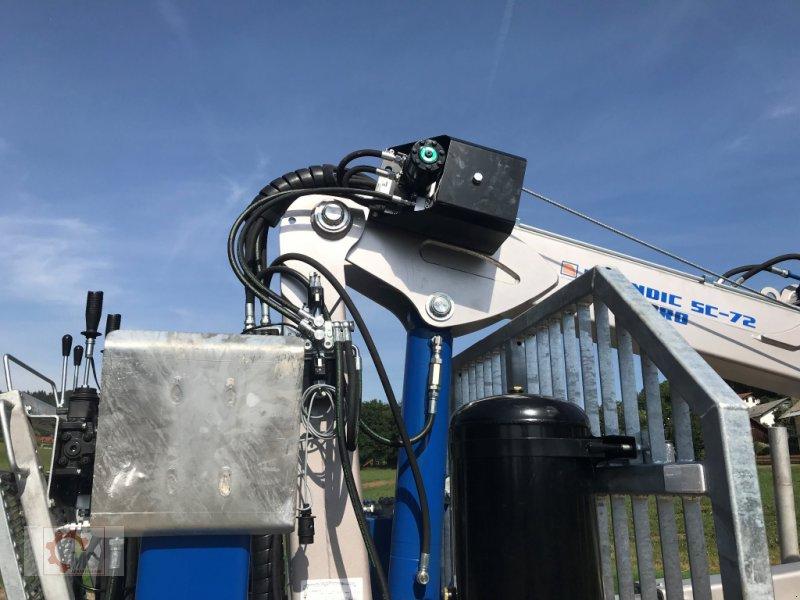 Rückewagen & Rückeanhänger des Typs Scandic ST-10D 13t 7,9m 850kg Hubkraft Druckluft winde sofort verfügbar, Neumaschine in Tiefenbach (Bild 7)