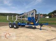 Scandic ST-10D 13t 7,9m 850kg Hubkraft Kran Druckluft Трелевочные прицепы