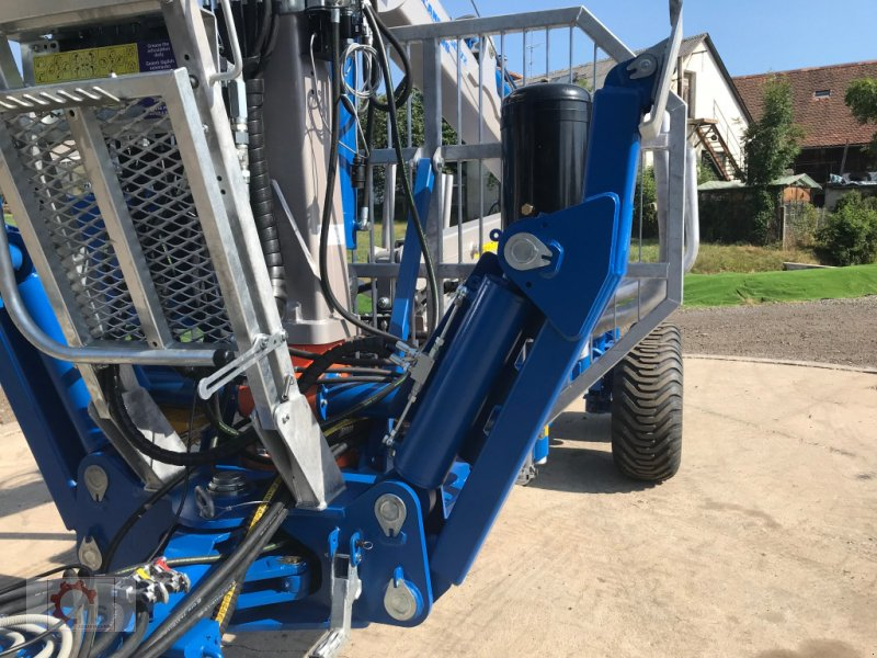 Rückewagen & Rückeanhänger des Typs Scandic ST-10D 13t 7,9m Kran 850kg Hubkraft Druckluft 40% Förderung, Neumaschine in Tiefenbach (Bild 13)