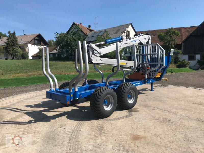 Rückewagen & Rückeanhänger des Typs Scandic ST-10D 13t 7,9m Kran 850kg Hubkraft Druckluft 40% Förderung, Neumaschine in Tiefenbach (Bild 20)
