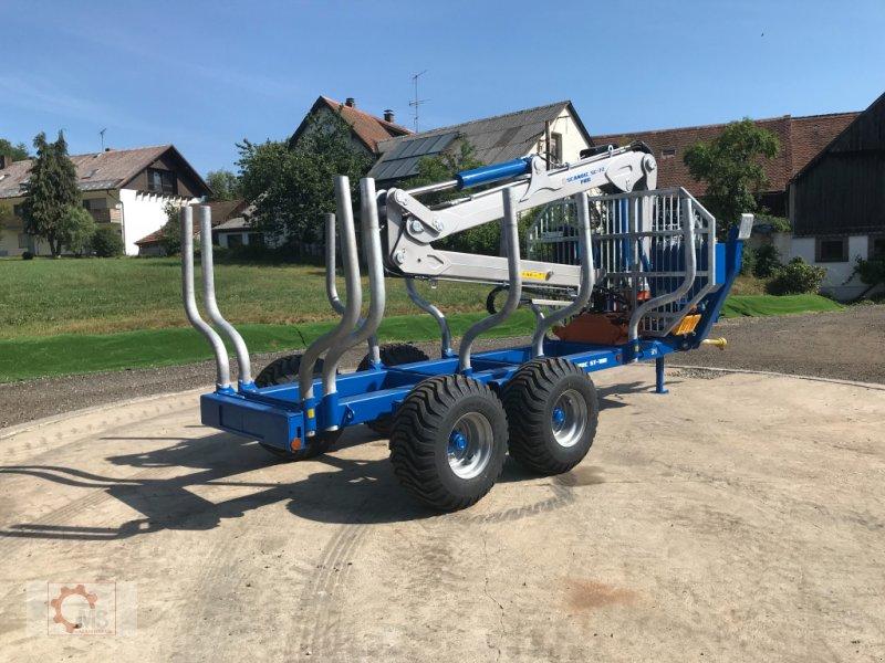 Rückewagen & Rückeanhänger des Typs Scandic ST-10D 13t 7,9m Kran 850kg Hubkraft Druckluft Seilwinde, Neumaschine in Tiefenbach (Bild 8)