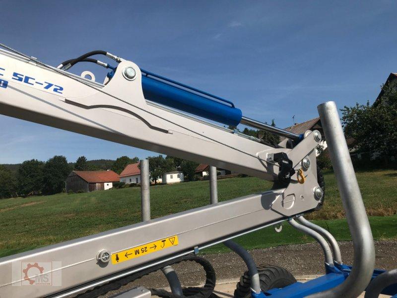 Rückewagen & Rückeanhänger des Typs Scandic ST-10D 13t 7,9m Kran 850kg Hubkraft Druckluft Seilwinde, Neumaschine in Tiefenbach (Bild 12)