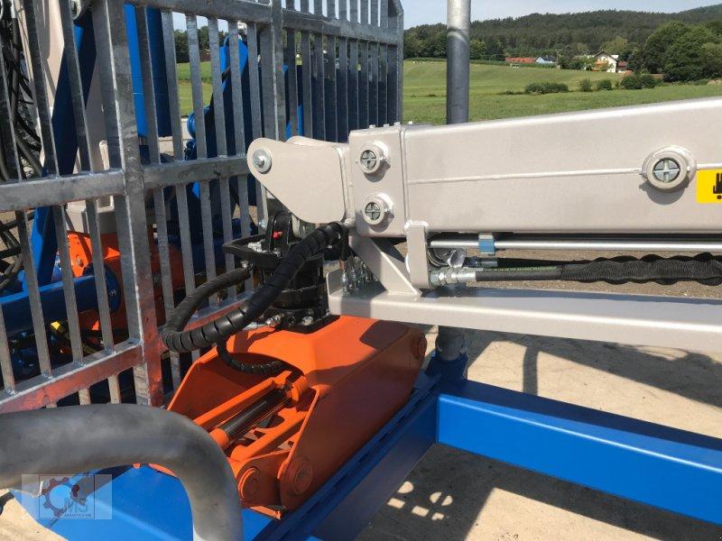 Rückewagen & Rückeanhänger des Typs Scandic ST-10D 13t 7,9m Kran 850kg Hubkraft Druckluft Seilwinde, Neumaschine in Tiefenbach (Bild 14)