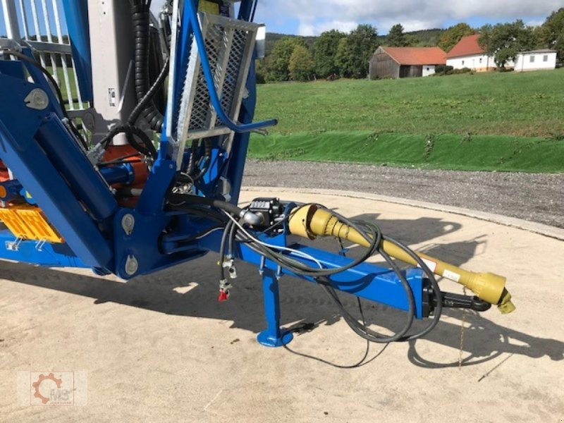 Rückewagen & Rückeanhänger des Typs Scandic ST-10D 13t 7,9m Kran 850kg Hubkraft Druckluft, Neumaschine in Tiefenbach (Bild 5)