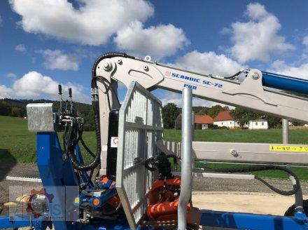 Rückewagen & Rückeanhänger des Typs Scandic ST-10D 13t 7,9m Kran 850kg Hubkraft Druckluft, Neumaschine in Tiefenbach (Bild 17)
