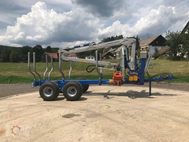 Rückewagen & Rückeanhänger des Typs Scandic ST-10S 13t 7,9m 550kg Kran Druckluft sofort verfügbar 40% Förderung, Neumaschine in Tiefenbach (Bild 1)