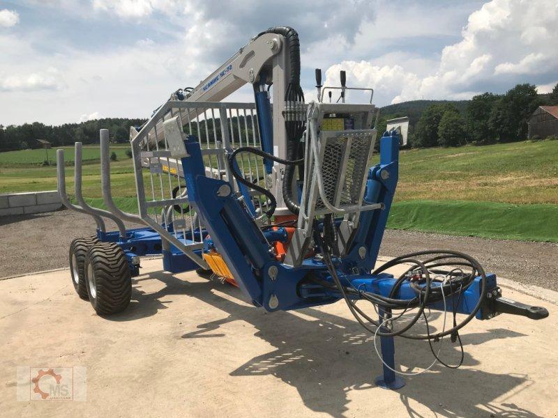 Rückewagen & Rückeanhänger des Typs Scandic ST-10S 13t 7,9m 550kg Kran Druckluft sofort verfügbar 40% Förderung, Neumaschine in Tiefenbach (Bild 4)