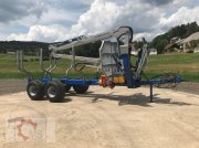 Scandic ST-10S 13t 7,9m 550kg Kran Druckluft sofort verfügbar Rückewagen & Rückeanhänger
