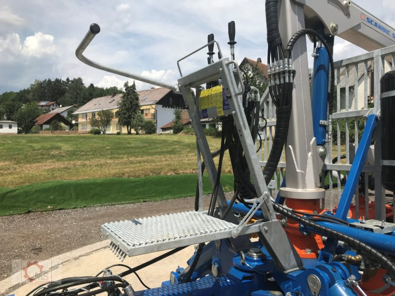 Rückewagen & Rückeanhänger des Typs Scandic ST-10S 13t 7,9m 550kg Kran Druckluft sofort Verfügbar, Neumaschine in Tiefenbach (Bild 7)