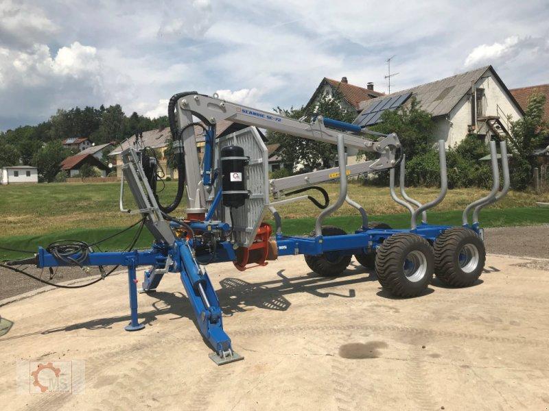 Rückewagen & Rückeanhänger des Typs Scandic ST-10S 13t 7,9m 550kg Kran Druckluft sofort Verfügbar, Neumaschine in Tiefenbach (Bild 14)