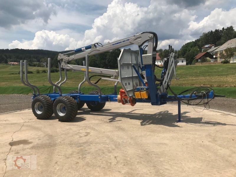 Rückewagen & Rückeanhänger des Typs Scandic ST-10S 13t 7,9m 550kg Kran Druckluft sofort Verfügbar, Neumaschine in Tiefenbach (Bild 13)