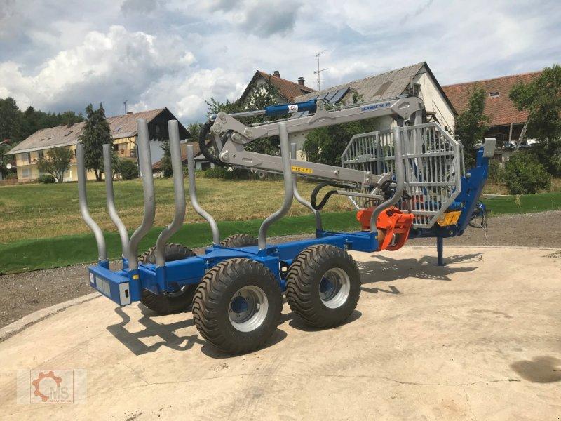 Rückewagen & Rückeanhänger des Typs Scandic ST-10S 13t 7,9m 550kg Kran Druckluft sofort Verfügbar, Neumaschine in Tiefenbach (Bild 16)