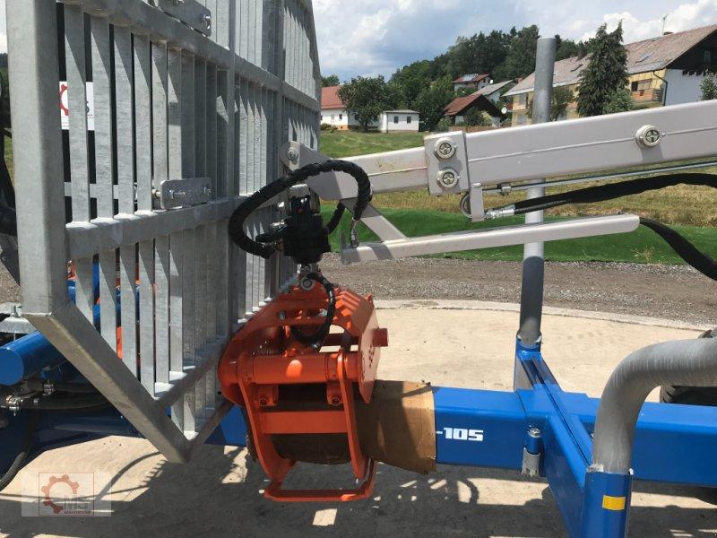 Rückewagen & Rückeanhänger des Typs Scandic ST-10S 13t 7,9m 550kg Kran Druckluft sofort verfügbar, Neumaschine in Tiefenbach (Bild 11)