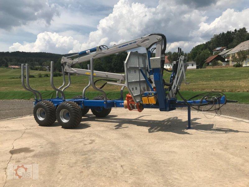 Rückewagen & Rückeanhänger des Typs Scandic ST-10S 13t 7,9m Kran 550kg Hubkraft Druckluft, Neumaschine in Tiefenbach (Bild 3)