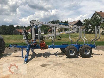 Rückewagen & Rückeanhänger des Typs Scandic ST-10S 13t 7,9m Kran 550kg Hubkraft Druckluft, Neumaschine in Tiefenbach (Bild 4)