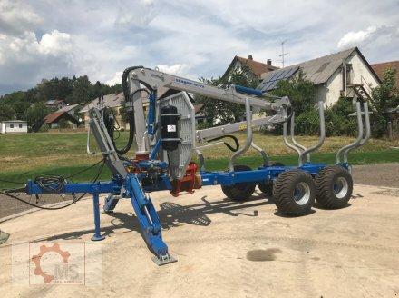 Rückewagen & Rückeanhänger des Typs Scandic ST-10S 13t 7,9m Kran 550kg Hubkraft Druckluft, Neumaschine in Tiefenbach (Bild 5)